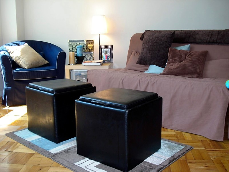 Efficiency fabulous in four hundred square feet for Redecorate my living room