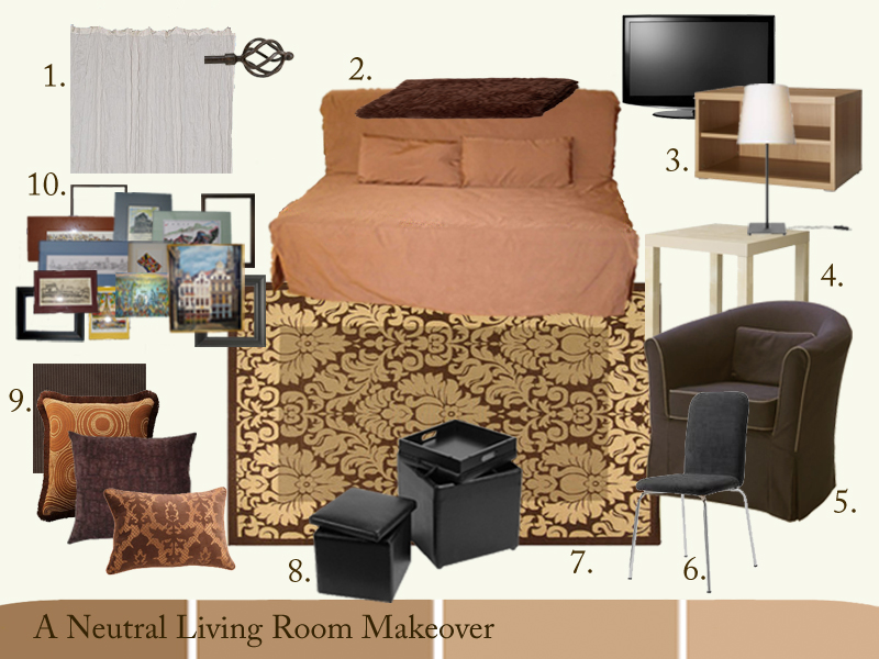 Balance fabulous in four hundred square feet for Redecorate my living room